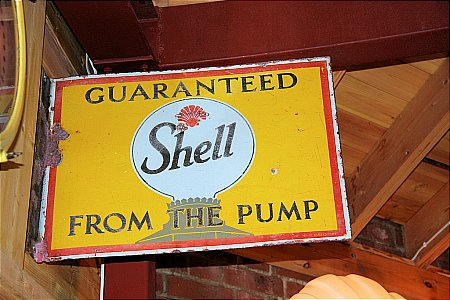 SHELL (Guaranteed) FROM THE PUMP - click to enlarge