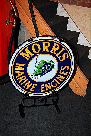 MORRIS MARINE ENGINES - click to enlarge