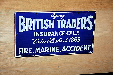 BRITISH TRADERS INSURANCE - click to enlarge