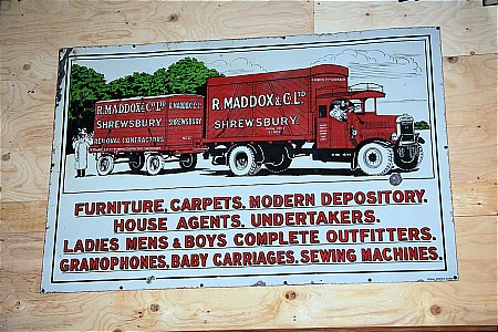 MADDOX REMOVALS - click to enlarge