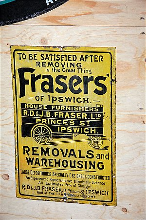 FRAZERS REMOVALS - click to enlarge