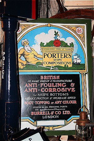 PORTERS SHIP'S ANTIFOULING - click to enlarge