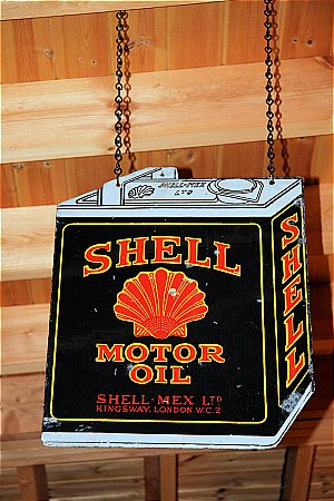 SHELL OIL (BLACK CAN) - click to enlarge