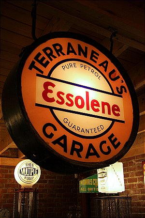 ESSO TERRANEAU'S GARAGE - click to enlarge