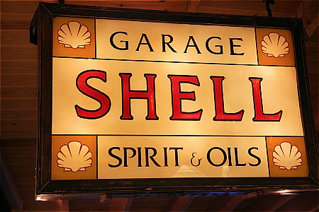 SHELL SPIRIT & OILS - click to enlarge