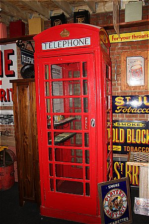 TELEPHONE BOX - click to enlarge