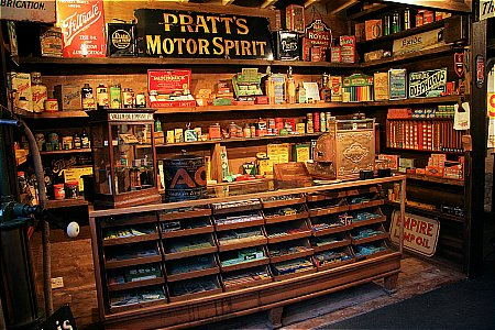 BROOKLANDS SHOP CABINET - click to enlarge